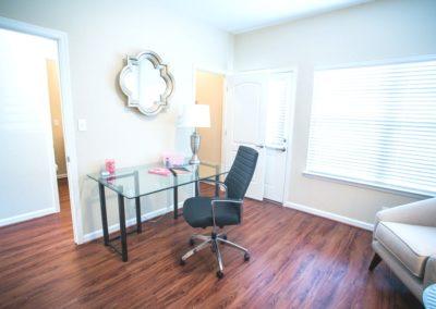 Chair and Desk in Bonus Room